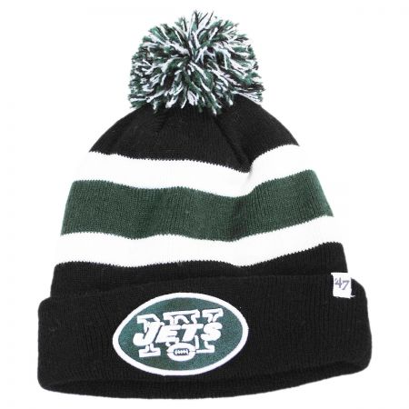 47 Brand New York Jets NFL Breakaway Knit Beanie Hat