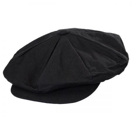 Jaxon Hats Linen Big Apple Cap
