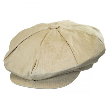 Jaxon Hats Linen Big Apple Cap