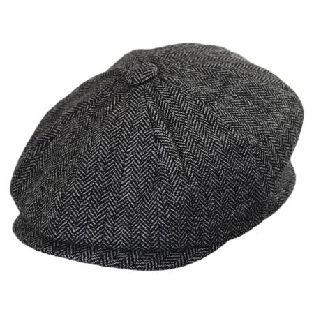 Kids' Herringbone Wool Blend Newsboy Cap alternate view 2