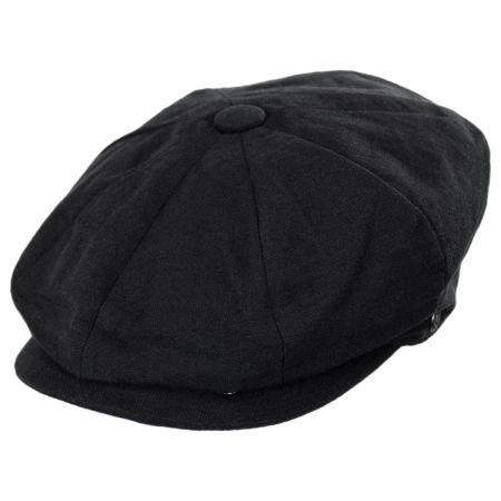 Jaxon Hats Linen and Cotton Newsboy Cap