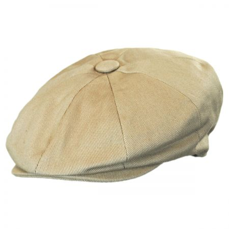 Jaxon Hats Youth Cotton Newsboy Cap