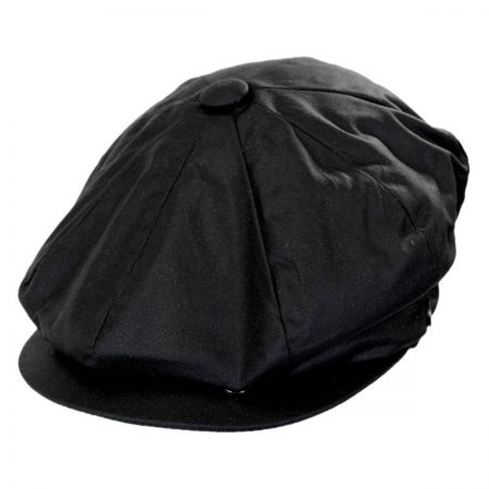 B2B Jaxon Waxed Cotton Newsboy Cap