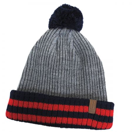Brixton Hats Prague Pom Knit Acrylic Beanie Hat