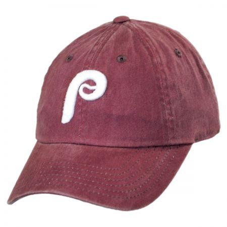 American Needle Philadelphia Phillies MLB Raglan Strapback Baseball Cap
