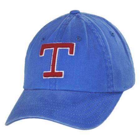 American Needle Texas Rangers MLB Raglan Strapback Baseball Cap
