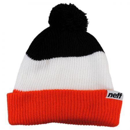 Neff Snappy Pom Knit Beanie Hat