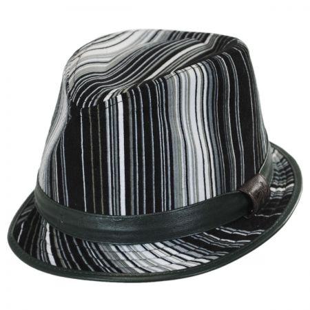 Carlos Santana Soho Fabric Fedora Hat