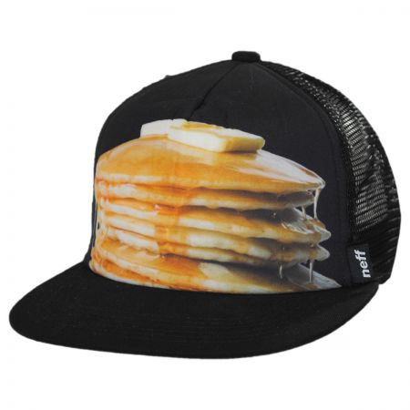 Neff Hawk Trucker Pancakes Snapback Baseball Cap