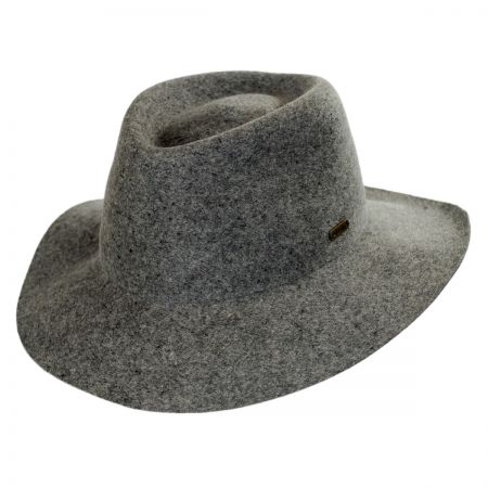 Barclay Wool Felt Trilby Fedora Hat alternate view 5