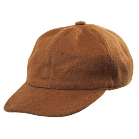 Stetson Cashmere and Wool Baseball Cap with Earflaps