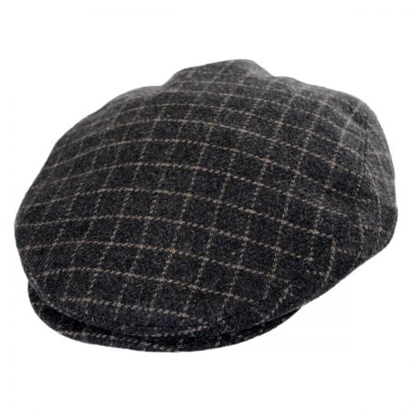 Stetson Plaid Ivy Cap with Earflaps