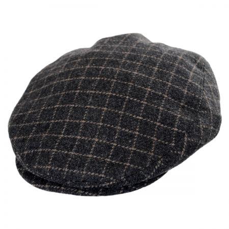 Stetson Plaid Wool Blend Earflap Ivy Cap