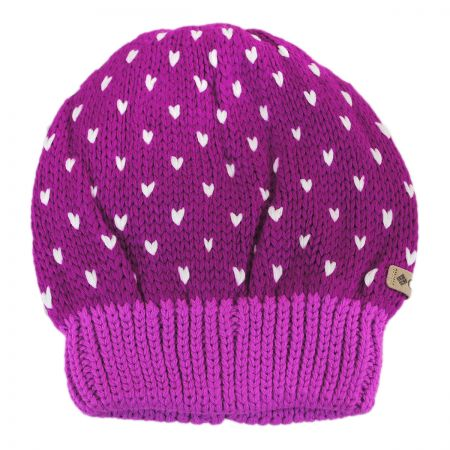 Kids' Powder Princess Knit Beanie Hat alternate view 5