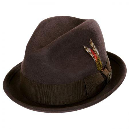 Gain Wool Felt Fedora Hat