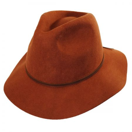 how to clean a felt fedora