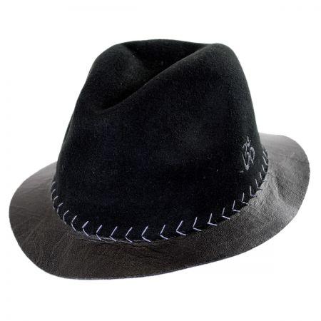 Carlos Santana Prosper Wool Felt Fedora Hat