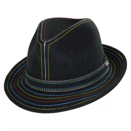 Carlos Santana Nirvana Wool Felt Fedora Hat