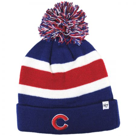 47 Brand Chicago Cubs MLB Breakway Knit Beanie Hat