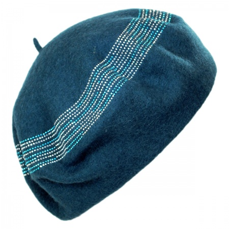 Crystals Wool Beret alternate view 4