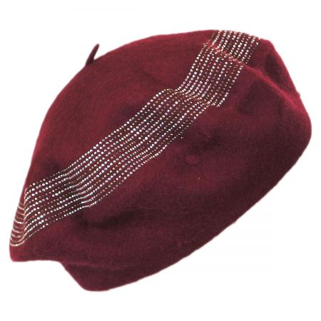 Crystals Wool Beret alternate view 7