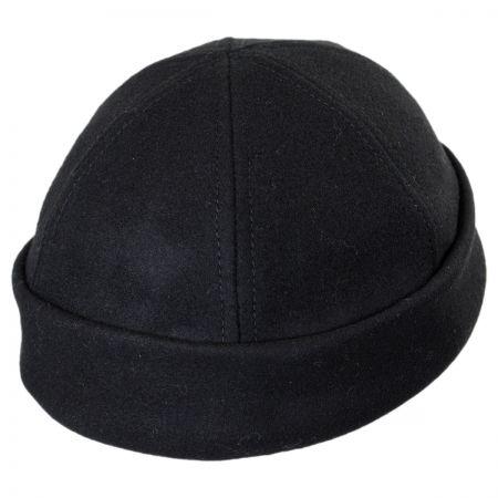 Six Panel Wool Skull Cap Beanie Hat alternate view 19