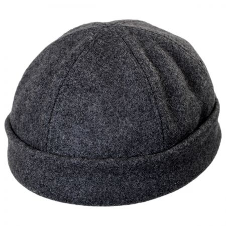 New York Hat Company Six Panel Wool Skull Cap Beanie Hat