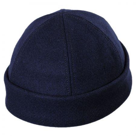 Six Panel Wool Skull Cap Beanie Hat alternate view 16