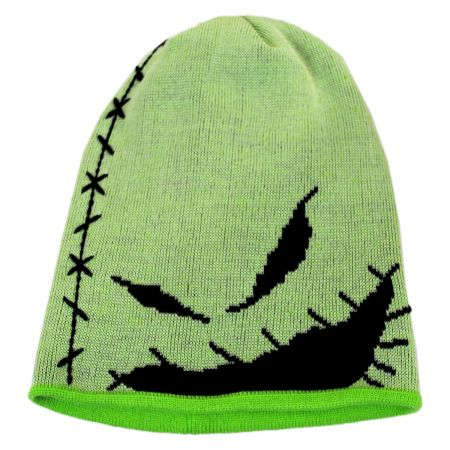 New Era Oogie Boogie Glow in the Dark Beanie Hat