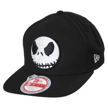 New Era Jack Skellington Glow in the Dark 9Fifty Snapback Baseball Cap