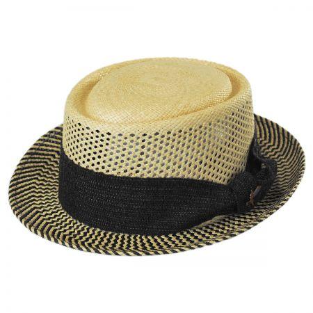 Carlos Santana Zen Panama Straw Pork Pie Hat