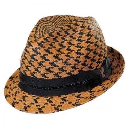 Carlos Santana Bodi Panama Straw Fedora Hat