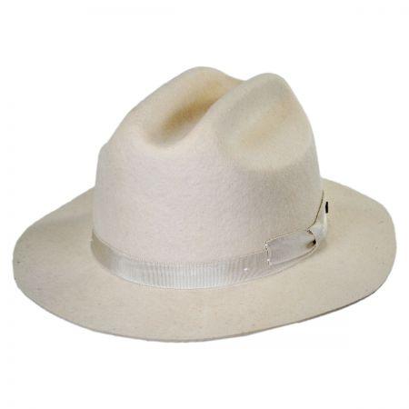 Brixton Hats Coburn Western Wool Felt Fedora Hat
