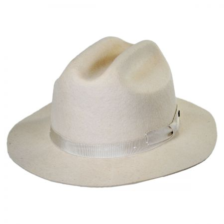 Brixton Hats Coburn Wool Felt Cattleman Western Hat