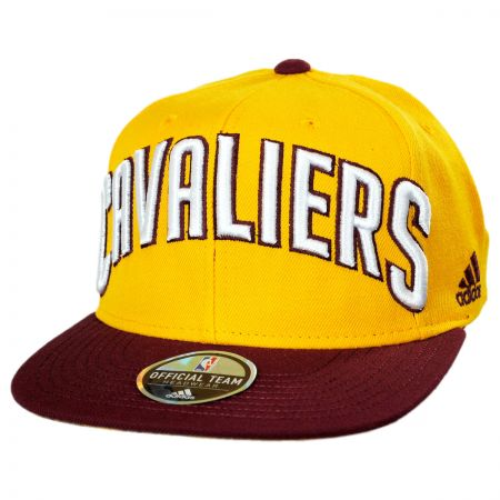 Mitchell & Ness Cleveland Cavaliers NBA adidas On Court Snapback Baseball Cap