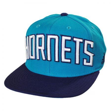 Charlotte Hornets NBA adidas On-Court Snapback Baseball Cap