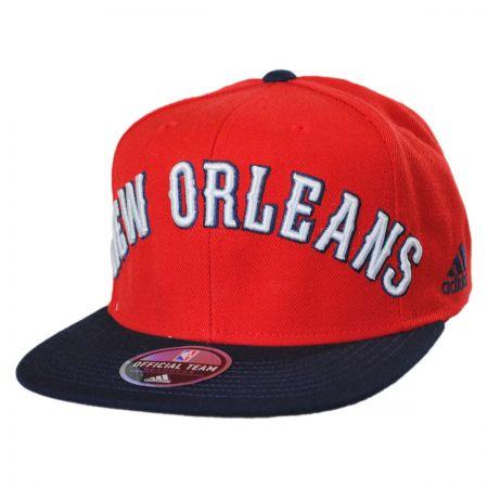 New Orleans Pelicans NBA adidas On-Court Snapback Baseball Cap