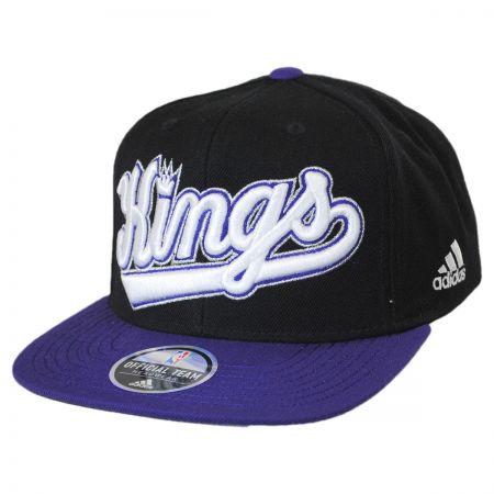 Mitchell & Ness Sacramento Kings NBA adidas On-Court Snapback Baseball Cap