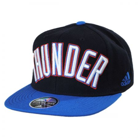 Mitchell & Ness Oklahoma City Thunder NBA adidas On Court Snapback Baseball Cap