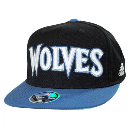Mitchell & Ness Minnesota Timberwolves NBA adidas On Court Snapback Baseball Cap