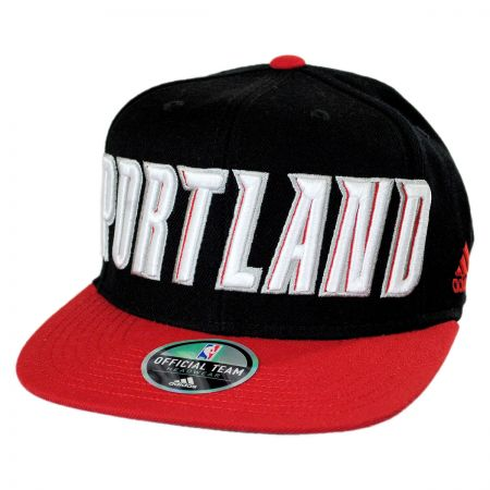 Mitchell & Ness Portland Trail Blazers NBA adidas On Court Snapback Baseball Cap
