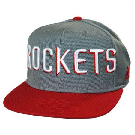 Houston Rockets NBA adidas On-Court Snapback Baseball Cap