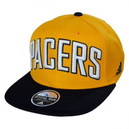 Mitchell & Ness Indiana Pacers NBA adidas On Court Snapback Baseball Cap