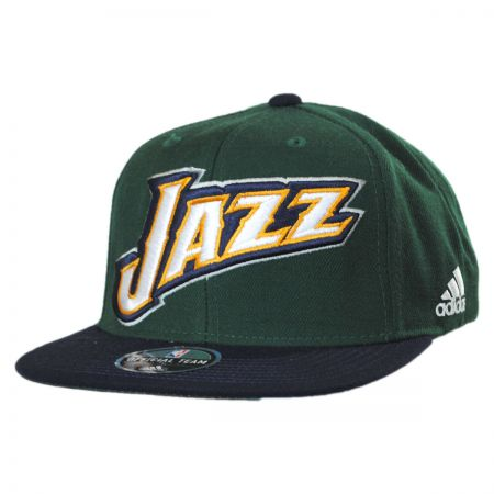Mitchell & Ness Utah Jazz NBA adidas On-Court Snapback Baseball Cap