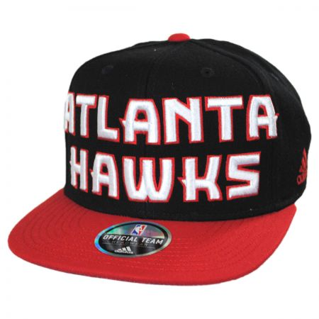 Mitchell & Ness Atlanta Hawks NBA adidas On Court Snapback Baseball Cap