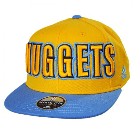 Mitchell & Ness Denver Nuggets NBA adidas On Court Snapback Baseball Cap