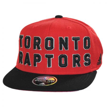 Toronto Raptors NBA adidas On-Court Snapback Baseball Cap