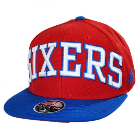 Mitchell & Ness Philadelphia 76ers NBA adidas On-Court Snapback Baseball Cap