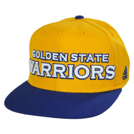 Mitchell & Ness Golden State Warriors NBA adidas On Court Snapback Baseball Cap