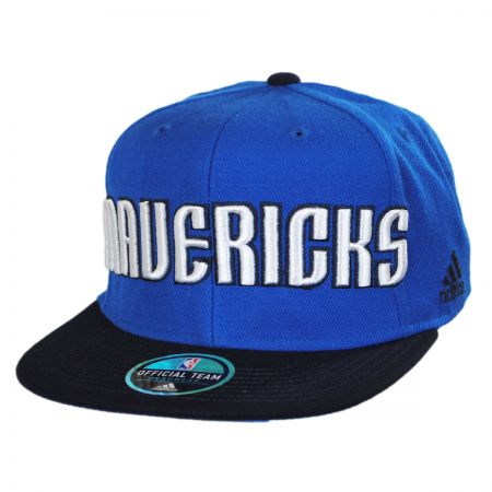 Mitchell & Ness Dallas Mavericks NBA adidas On Court Snapback Baseball Cap
